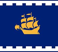 Flag of Quebec City by abbeyz71