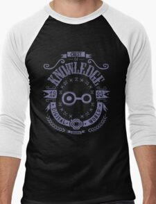 Knowledge Men's Baseball ¾ T-Shirt