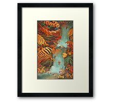 Flora and Fauna Framed Print