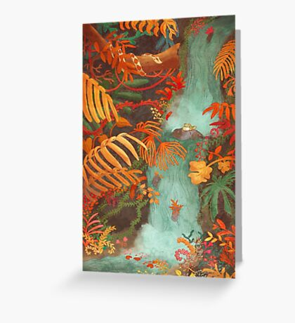 Flora and Fauna Greeting Card