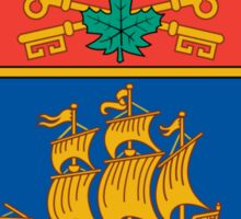 Quebec City Coat of Arms Sticker