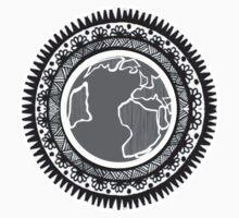 Globe Mandala by jay-p