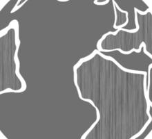 Globe Mandala Sticker