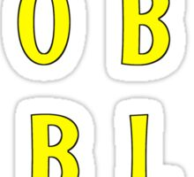 Flabe Lobe Able Peer – Yellow Sticker