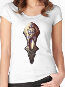 Ancient Pit Bull Idol Women's Fitted Scoop T-Shirt