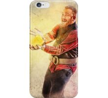 Wizard Playing with Fire iPhone Case/Skin