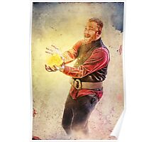 Wizard Playing with Fire Poster