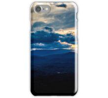 Blue Ridge Mountians Sunset iPhone Case/Skin