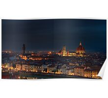 Florence Before Sunrise Poster