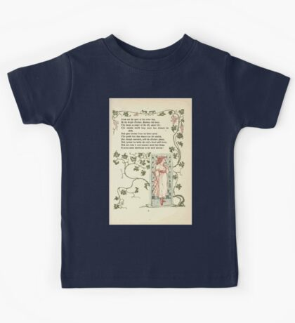 The Old Garden and Other Verses by Margaret Deland and Wade Campbell, Illustrated by Walter Crane 1894 45 - The Old Garden P2 Kids Tee