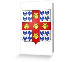 Laval Coat of Arms Greeting Card