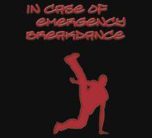 in case of emergency breakdance  by mariapar