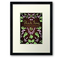 Black King Bar - 99% Cacao with Traces of Radiant  Framed Print
