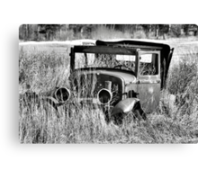 1930 Ford Model A Turon Sedan Canvas Print