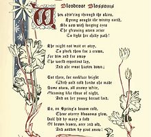 The Old Garden and Other Verses by Margaret Deland and Wade Campbell, Illustrated by Walter Crane 1894 112 - Bloodcoor Blossoms by wetdryvac