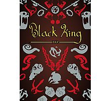 Black King Bar - 99% Cacao with Hint of Dire Photographic Print