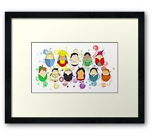 Gentlemen of Disney Framed Print