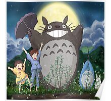 funny totoro Poster