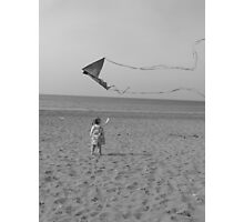 windy day Photographic Print