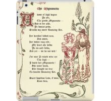 The Old Garden and Other Verses by Margaret Deland and Wade Campbell, Illustrated by Walter Crane 1894 69 - The Mignonette iPad Case/Skin
