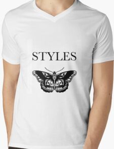 harry styles butterfly tattoo Mens V-Neck T-Shirt
