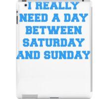 Longer Weekends iPad Case/Skin