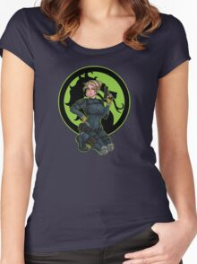 Cassie Cage Women's Fitted Scoop T-Shirt