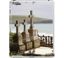 buried with a view iPad Case/Skin