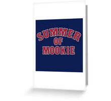 Summer of Mookie - Red Sox - Mookie Betts Greeting Card
