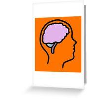 Brainiac Greeting Card