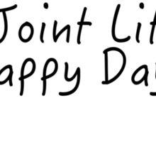 louis tomlinson joint lit happy days Sticker