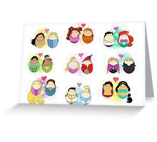 Couples of Disney Greeting Card