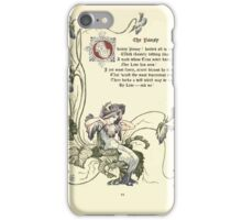 The Old Garden and Other Verses by Margaret Deland and Wade Campbell, Illustrated by Walter Crane 1894 52 - The Pansy iPhone Case/Skin