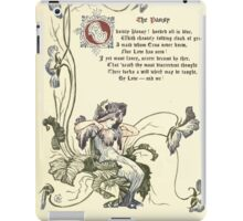 The Old Garden and Other Verses by Margaret Deland and Wade Campbell, Illustrated by Walter Crane 1894 52 - The Pansy iPad Case/Skin
