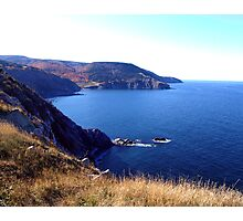 Cliffs of Meat Cove Photographic Print
