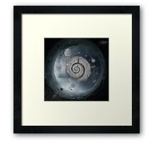 Travel through time...... Framed Print