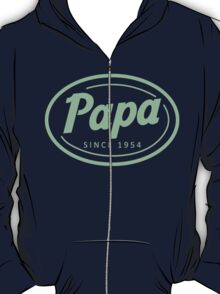 """Papa since 1954"" Collection #41035 T-Shirt"