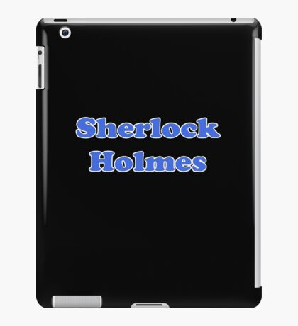 Sherlock Holmes Sticker - Conan Doyle T-Shirt iPad Case/Skin