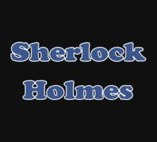 Sherlock Holmes Sticker - Conan Doyle T-Shirt One Piece - Short Sleeve