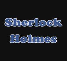 Sherlock Holmes Sticker - Conan Doyle T-Shirt Kids Tee