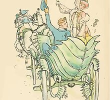 A flower wedding - Described by Two Wallflowers by Walter Crane 1905 70 - In Venus's Fly Trap the pair drove away by wetdryvac