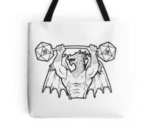 Ancient Swole Dragon Tote Bag
