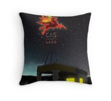 THE LAST CHANCE GAS Throw Pillow