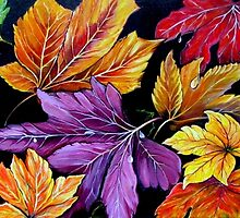 Colours of Autumn  by © Linda Callaghan