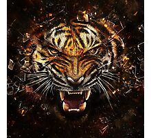 Tiger Roar Photographic Print
