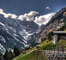 Gimmelwald-Swiss by GOSIA GRZYBEK