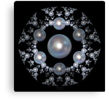 'Pearl Broach' Canvas Print