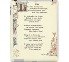 The Old Garden and Other Verses by Margaret Deland and Wade Campbell, Illustrated by Walter Crane 1894 81 - May iPad Case/Skin