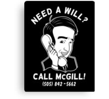 Better Call McGill Canvas Print