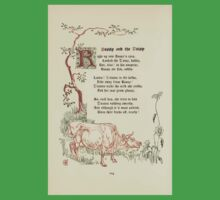 The Old Garden and Other Verses by Margaret Deland and Wade Campbell, Illustrated by Walter Crane 1894 236 - Bossy and Daisy Kids Tee